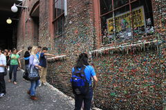 Seattle Gum Wall Royalty Free Stock Photo