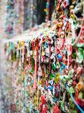 Seattle Gum Wall close up Royalty Free Stock Image