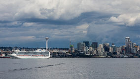 Seattle Harbor Royalty Free Stock Image
