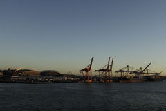 Seattle harbor Royalty Free Stock Photography