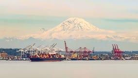 Seattle Harbor royalty free stock image