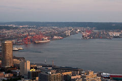 Seattle Harbour Royalty Free Stock Images