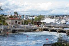 Seattle Hiram M. Chittenden Ballard Locks Royalty Free Stock Image