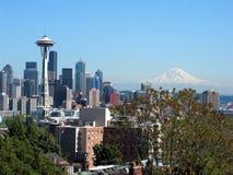 Seattle horisont Royaltyfria Foton