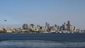 Seattle horisont Royaltyfri Fotografi
