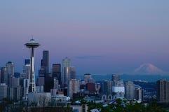 Seattle horisont Royaltyfri Bild