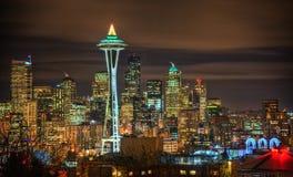 Seattle horisont, USA royaltyfri bild