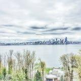 Seattle horizon Stock Photography