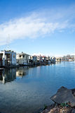 Seattle Houseboats Stock Images
