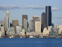 Orizzonte della città di Seattle Immagini Stock
