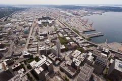 Seattle im Stadtzentrum gelegen Stockfotografie