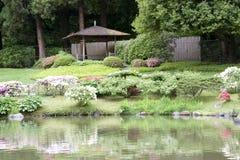 Seattle japanträdgård fotografering för bildbyråer