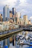 Seattle jest w centrum Zdjęcia Royalty Free
