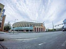 SEATTLE - JUNI 2017: Jahrhundert-Kettfeldstadion Haus von Seattle Stockbilder
