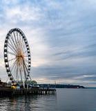 Seattle Ko?o Ferris zdjęcia stock