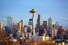 Seattle linia horyzontu Obrazy Royalty Free