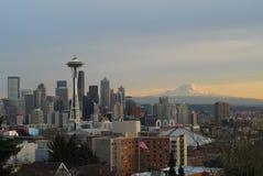 Seattle linia horyzontu Obraz Royalty Free