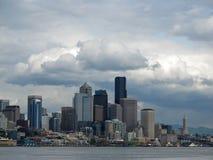 Seattle linia horyzontu Fotografia Stock