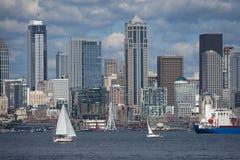 Seattle linia horyzontu Zdjęcie Royalty Free