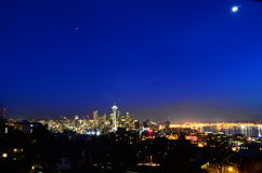Seattle long exposure Stock Images
