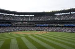Seattle mariners vs la angels 2015 baseball game Stock Photo
