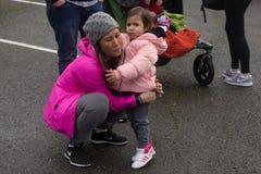 Seattle mars de million de femmes Image stock