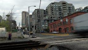 Seattle miasta ruchu drogowego czasu upływu pociągi zbiory
