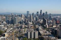 Seattle-Mitte lizenzfreie stockfotografie