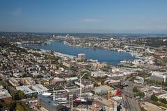 Seattle-Mitte stockbilder