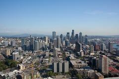 Seattle-Mitte lizenzfreies stockbild