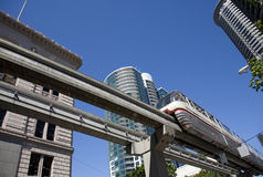 Seattle Monorail Royalty Free Stock Photography