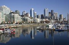 Seattle nabrzeże obrazy royalty free