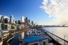 Seattle nabrzeże Zdjęcie Royalty Free