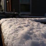 seattle śnieg Obrazy Royalty Free