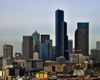 Seattle Old and New Royalty Free Stock Photos