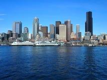 Seattle/paisaje urbano Fotografía de archivo libre de regalías