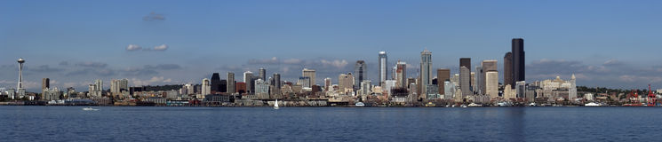 Seattle Panorama Royalty Free Stock Photos
