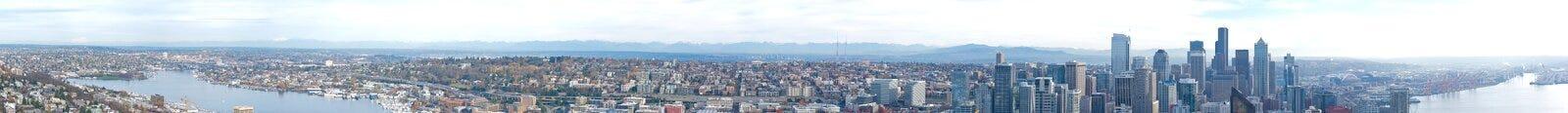 Seattle Panorama Stock Photos