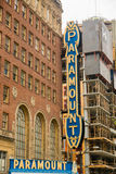 Seattle Paramount znak zdjęcia stock
