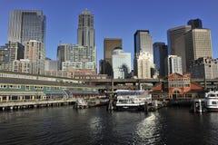 Seattle, Pijler 55 Stock Foto's