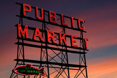 Free Seattle Pike Place Market Royalty Free Stock Images - 5131689