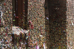 Gum alley at Seattle Pike Place Market Royalty Free Stock Images