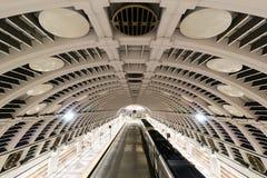 Seattle pioniera staci autobus i pociągu Terminal Zdjęcie Stock