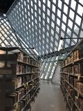 Seattle Public Library stock photo
