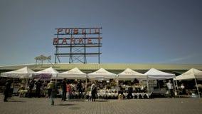 Seattle Public Market Stock Photos