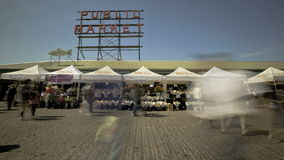 Seattle Public Market Royalty Free Stock Photography