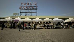 Seattle Public Market Royalty Free Stock Photography