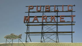 Seattle Public Market Stock Images