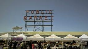 Seattle Public Market Stock Images