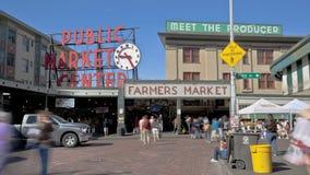 Seattle Public Market Stock Photo